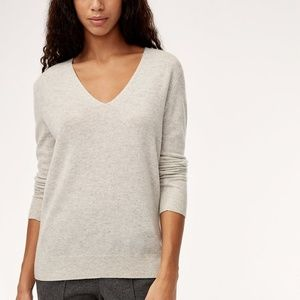 The Group Babaton Luxe Cashmere V-Neck Sweater